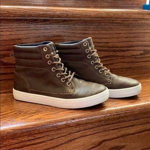 Old Navy Brown Sneaker Boot